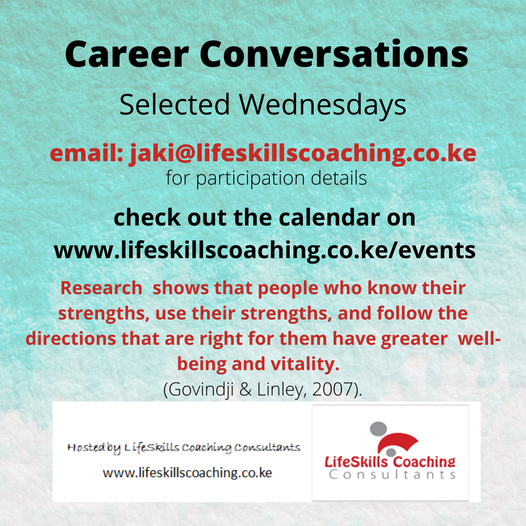 poster for Career Conversations
